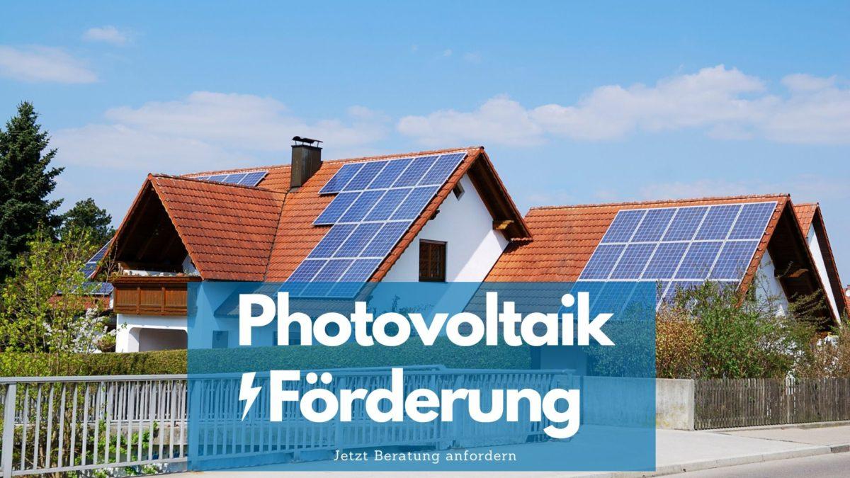 Photovoltaik Förderung